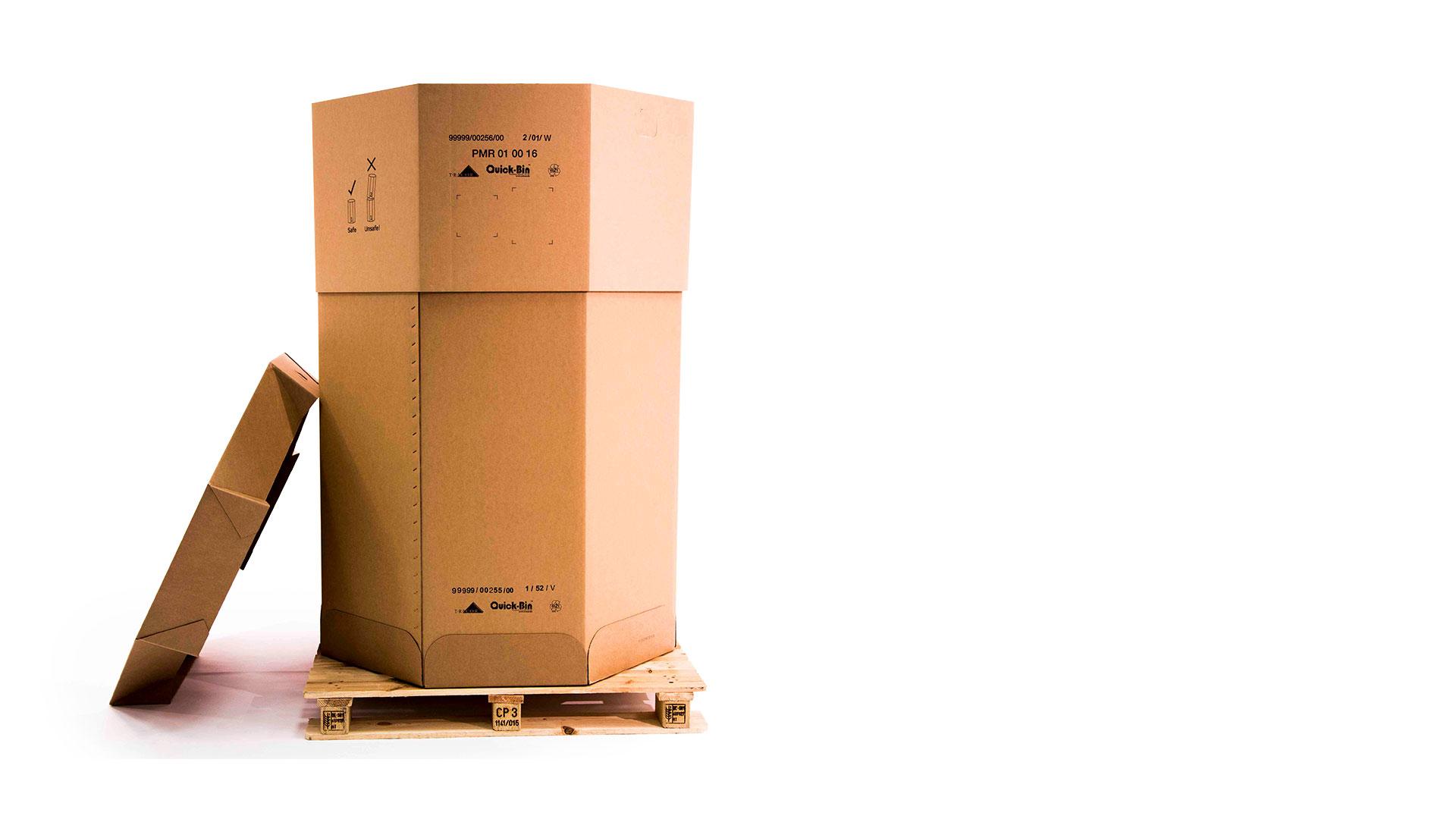 Oktabin - Innovative Verpackungslösung von TRICOR für